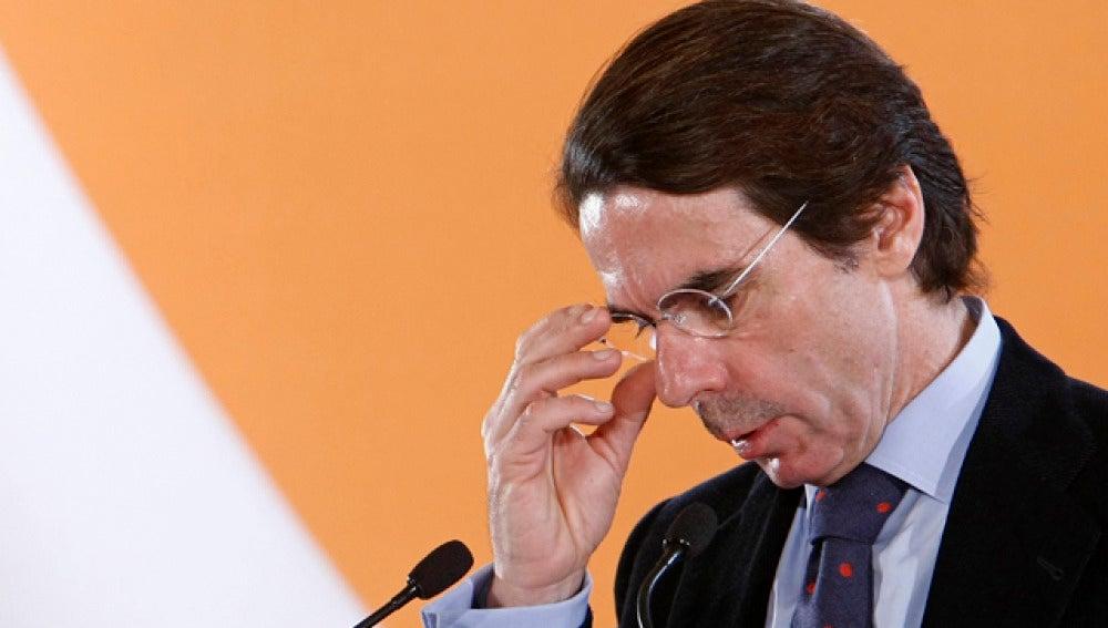 El presidente de FAES, José María Aznar