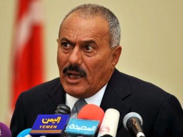 Alí Abdulá Saleh, presidente de Yemen