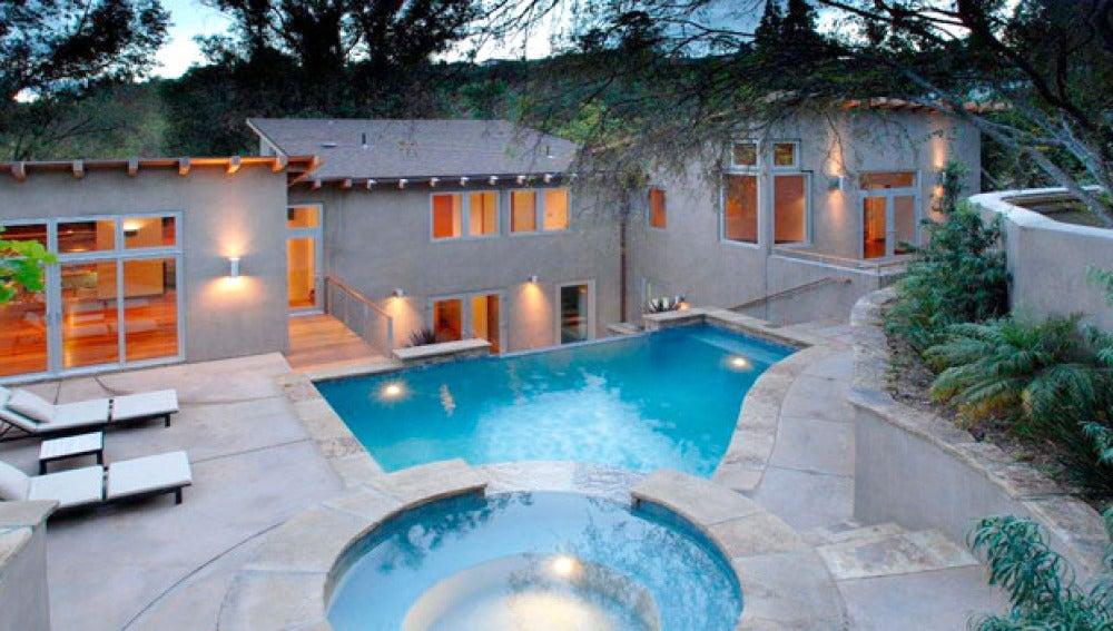 La casa de Ashton Kutcher