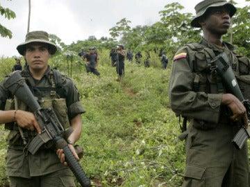 La Policía colombiana