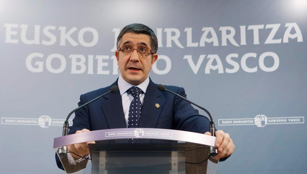 Patxi López, lehendakari vasco