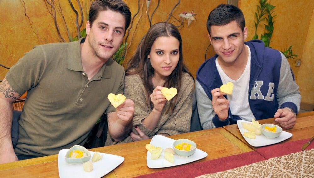 Ángel, Sandra y Culebra celebran San Valentín