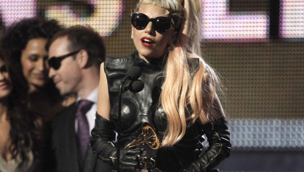 Lady Gaga en los Grammy