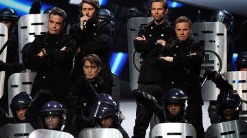 El grupo de Take That al completo