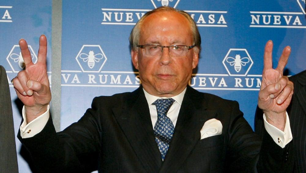 Ruiz-Mateos, tras la rueda de prensa