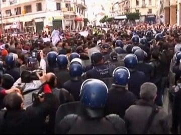 Disturbios en Argel