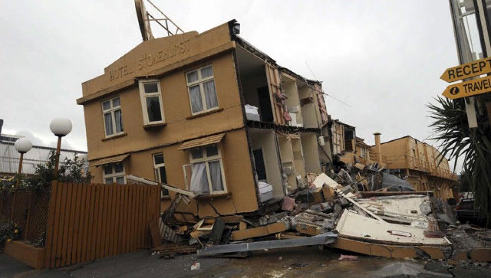 Un seísmo deja 65 muertos en Nueva Zelanda