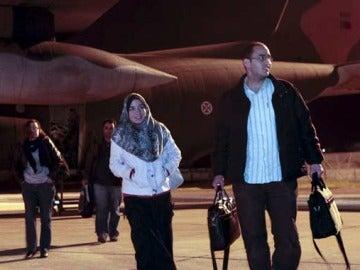 Evacuación de personas en Libia