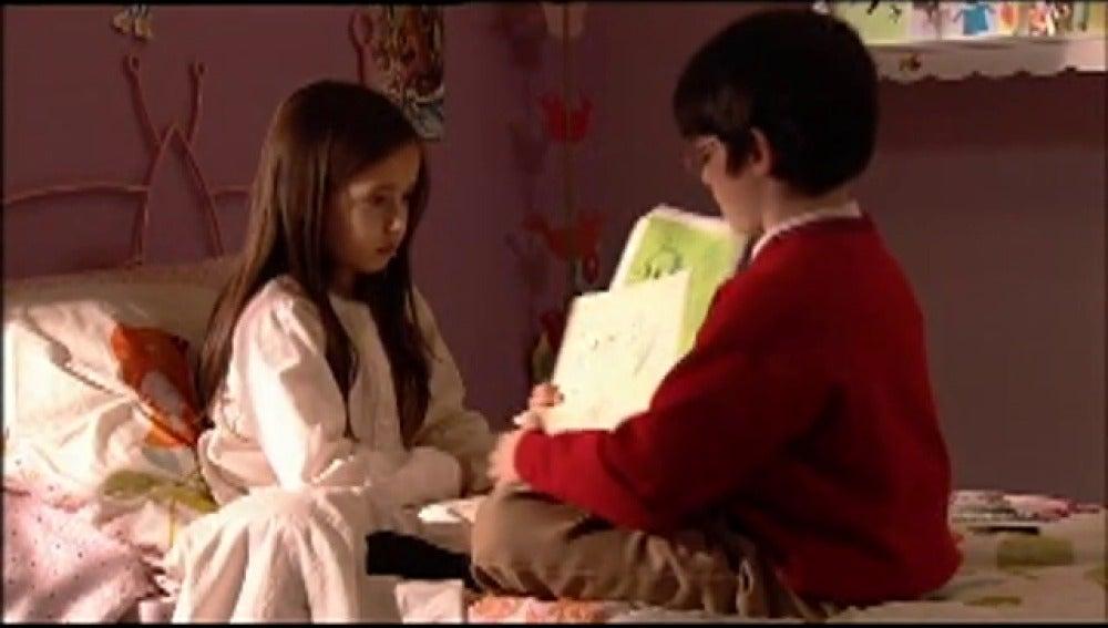 Lucía y Carlitos en Los Protegidos