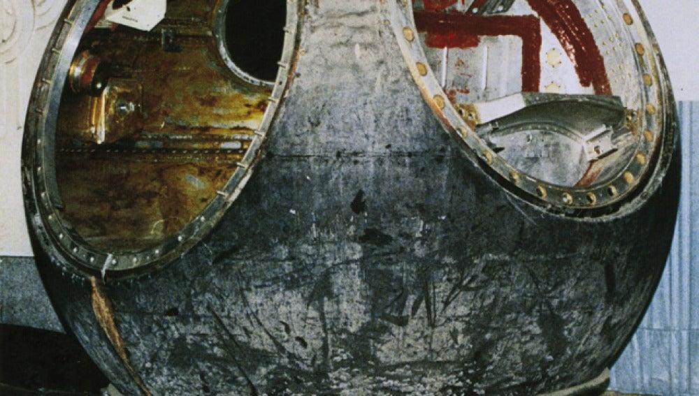 Cápsula de Gagarin (25-2-2011)
