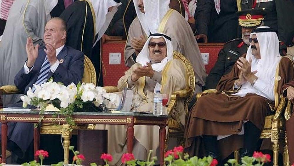 El rey Don Juan Carlos, en Kuwait
