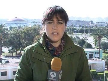 Susana Román, en Libia