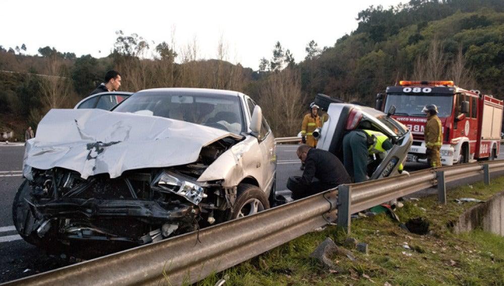 Accidente de tráfico (9-4-2011)