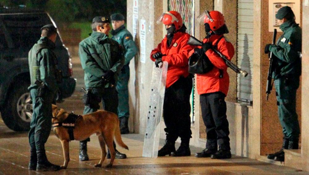 Operación contra ETA en Bilbao