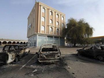 Disturbios en Omán (01-03-2011)