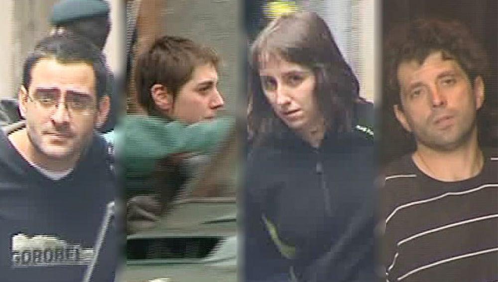 Etarras detenidos en Bilbao