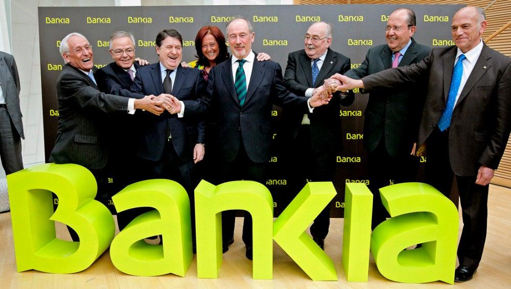 Acto de presentación de Bankia