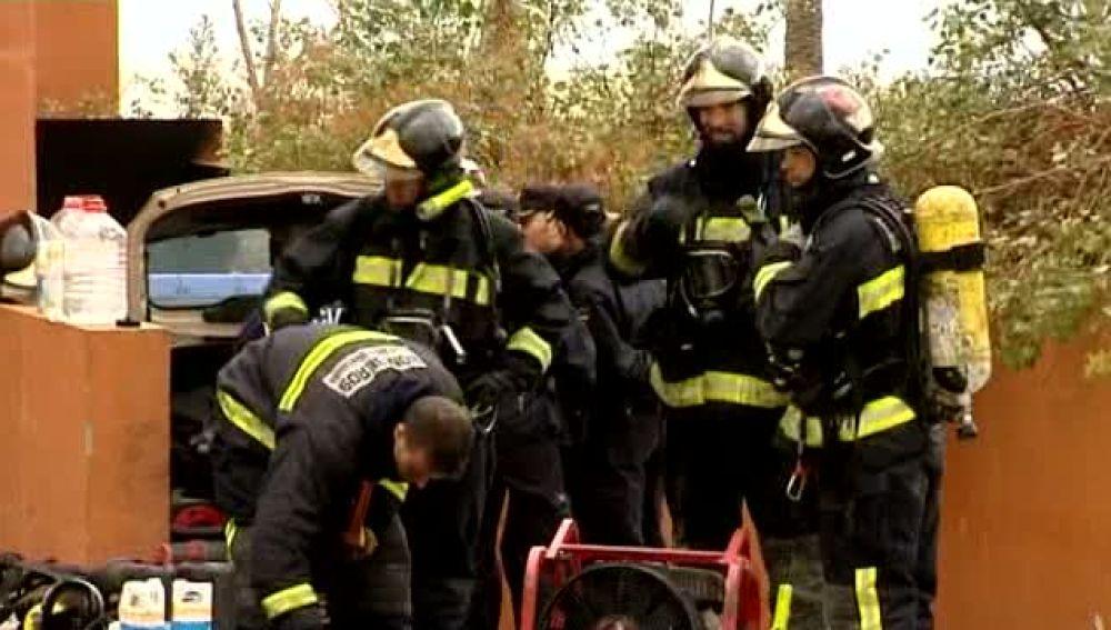 600 desalojados por el incendio en Ciudad del Campo
