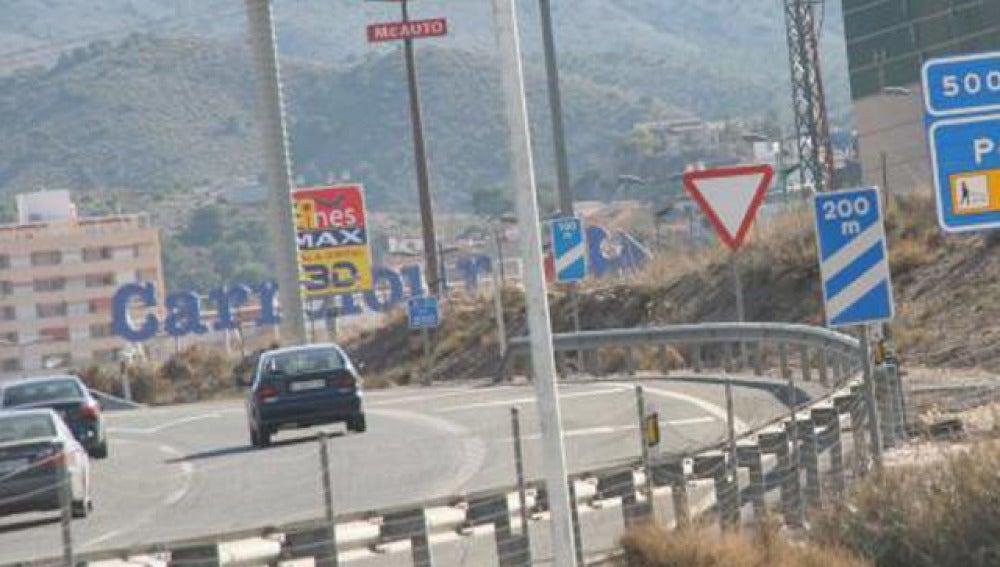 La A31 a su paso por Alicante