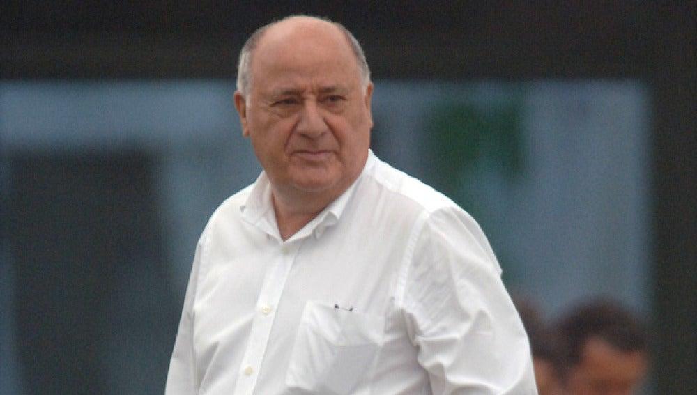 Amancio Ortega, dueño de Inditex