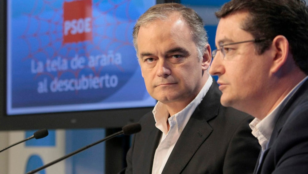 Esteban González Pons y Antonio Sanz
