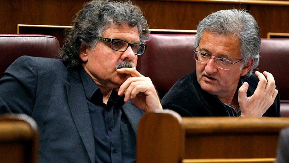 Tardá y Canet, de ERC, en el Congreso