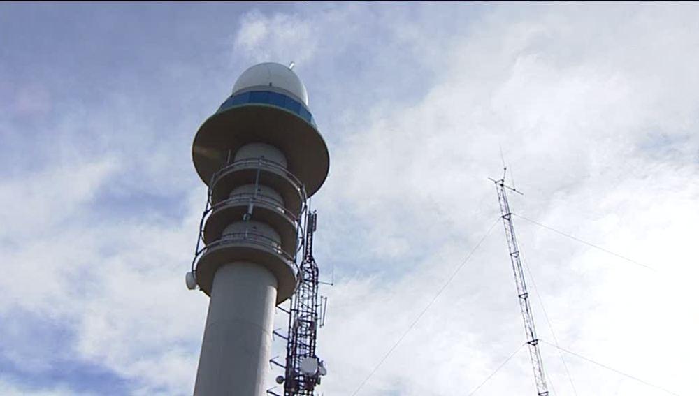 Indicador meteorológico en Pontevedra
