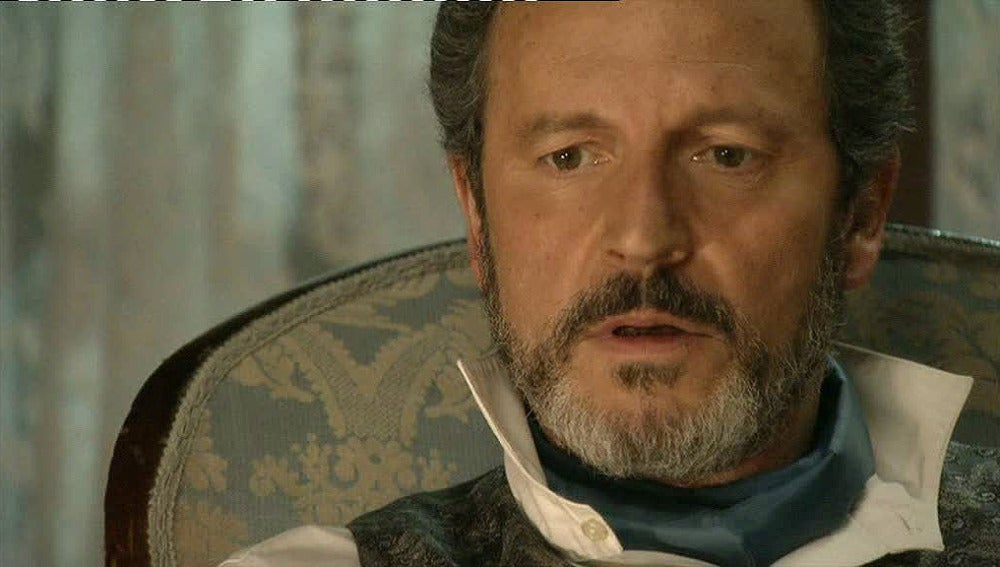 Germán recibe un anónimo diciendo que Roberto es su hijo