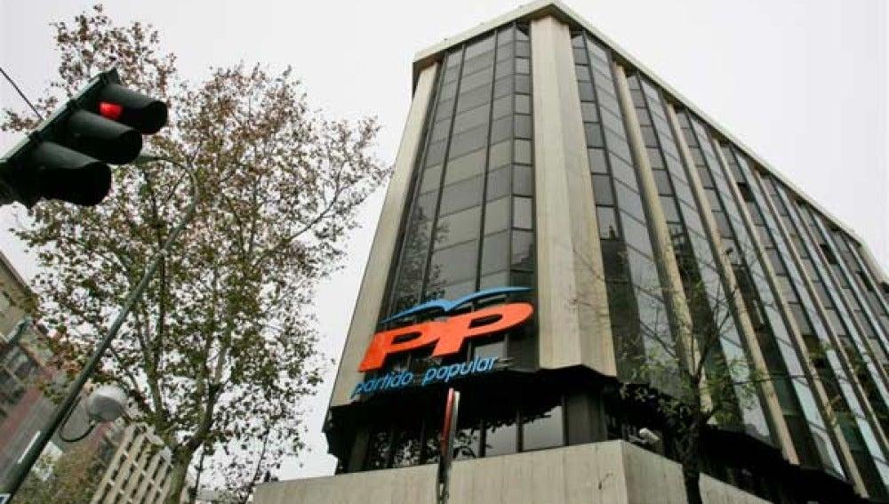 La sede del PP en Génova
