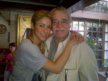 Shakira y Gabriel García Márquez