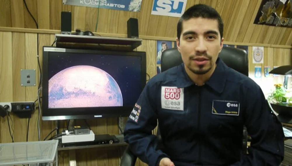 Diego Urbina, tripulante Mars 500