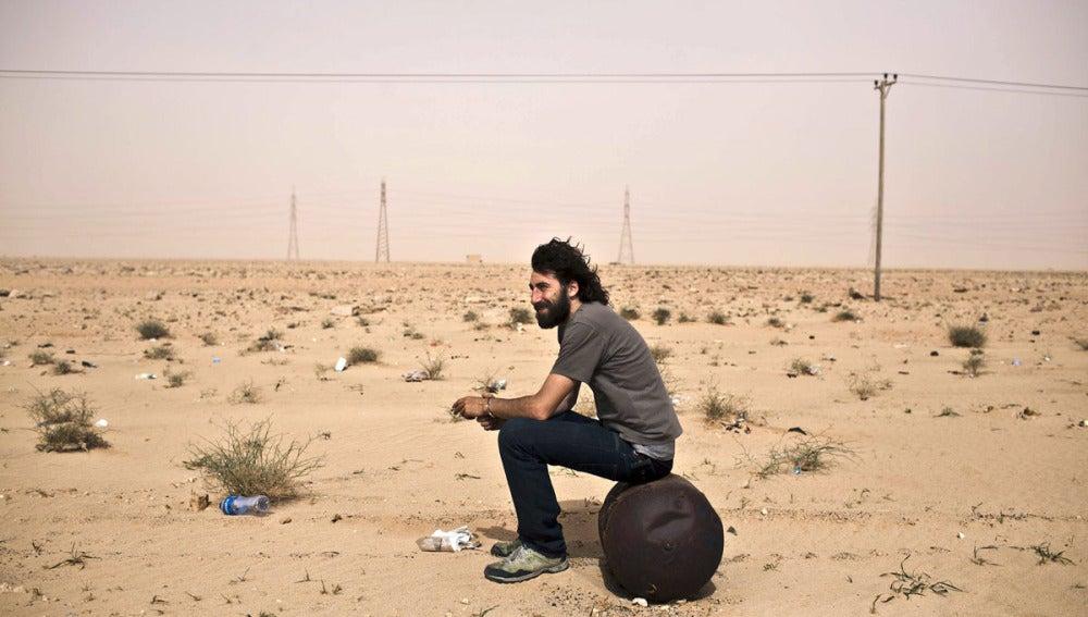 Manuel Varela de Seijas Bravo, conocido como 'Manu Brabo', en Libia