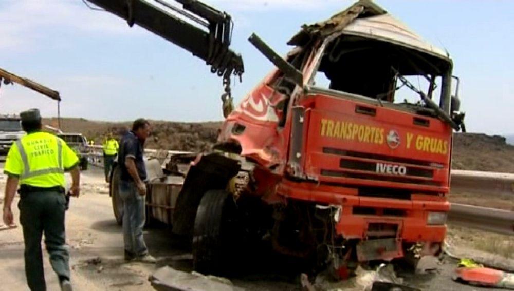 Canarias a la cola en accidentes de tráfico