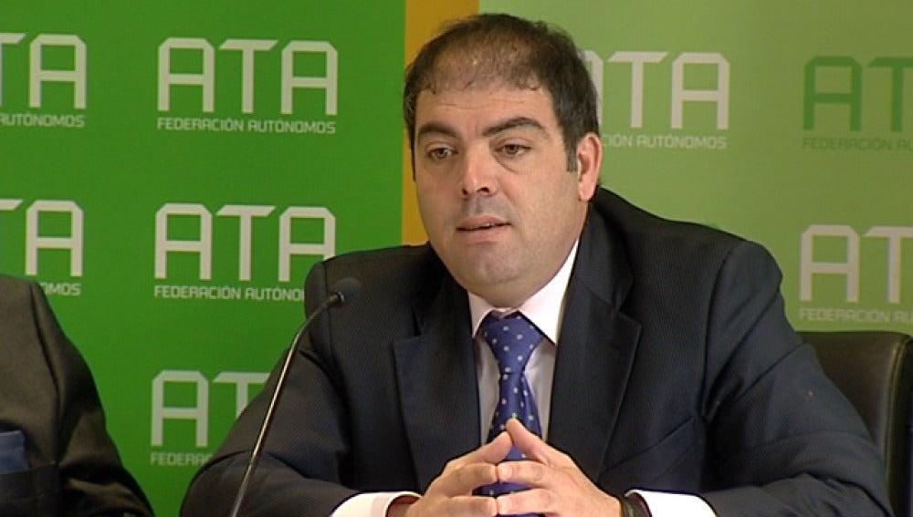 Lorenzo Amor, presidente de la Federación de Autónomos