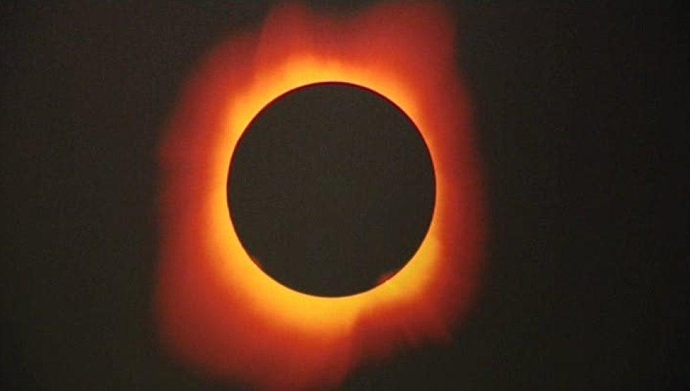 Imagen del sol.