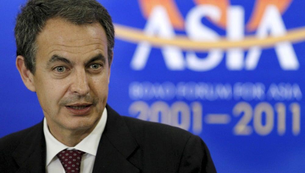 Zapatero, en su visita a China