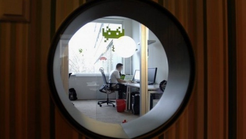 Un despacho en las oficinas de Google