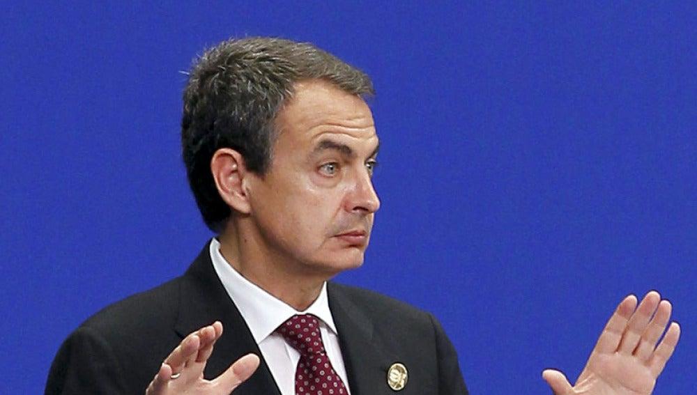 Zapatero, en China