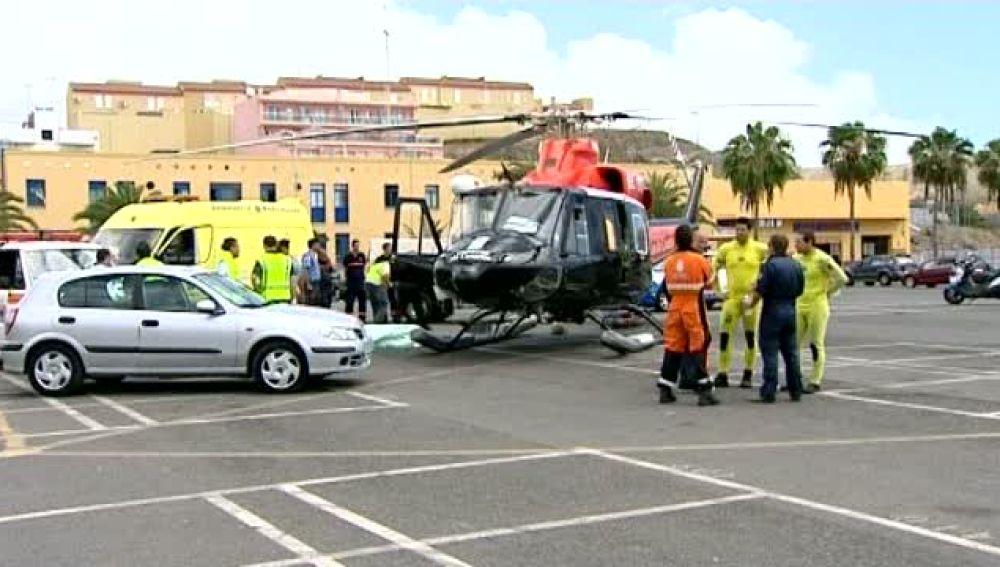 Dos turistas mueren ahogados en el sur de Gran Canaria