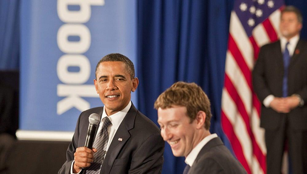 ANTENA 3 TV | Obama consigue que Mark Zuckerberg vista de traje en ...
