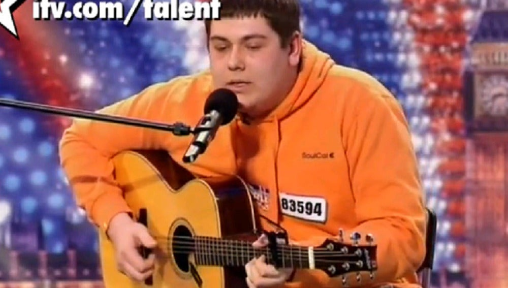 Michael Colling en Britain's Got Talent