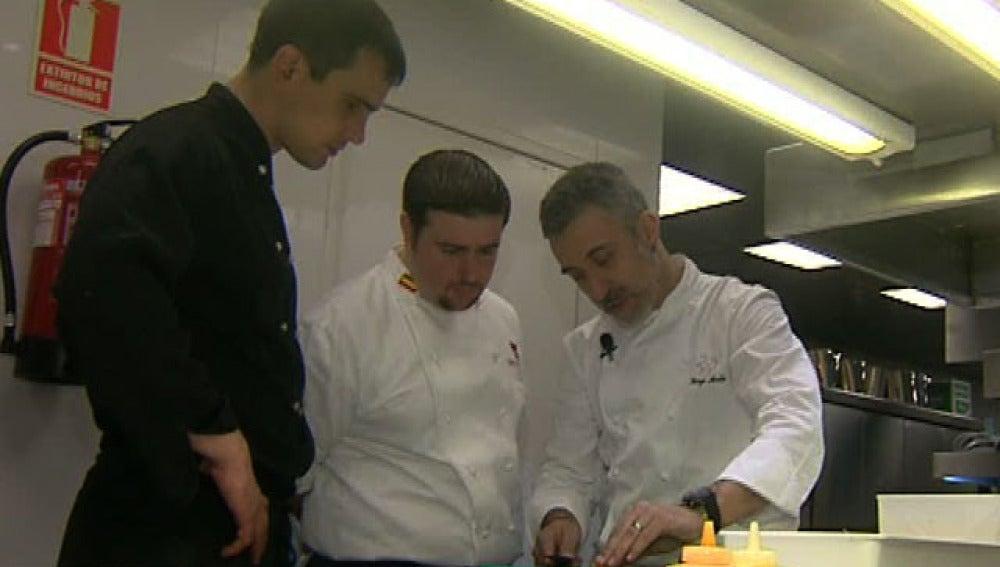 Clases de cocina con Sergi Arola