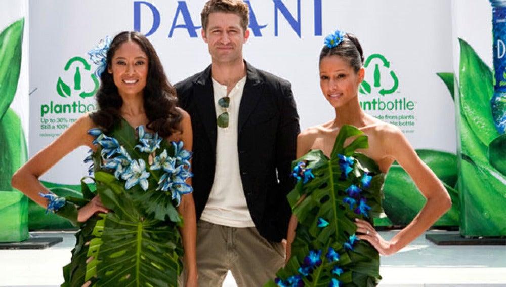 Desfile de moda verde