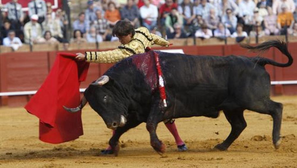 Antonio Barrera en la Feria de Abril