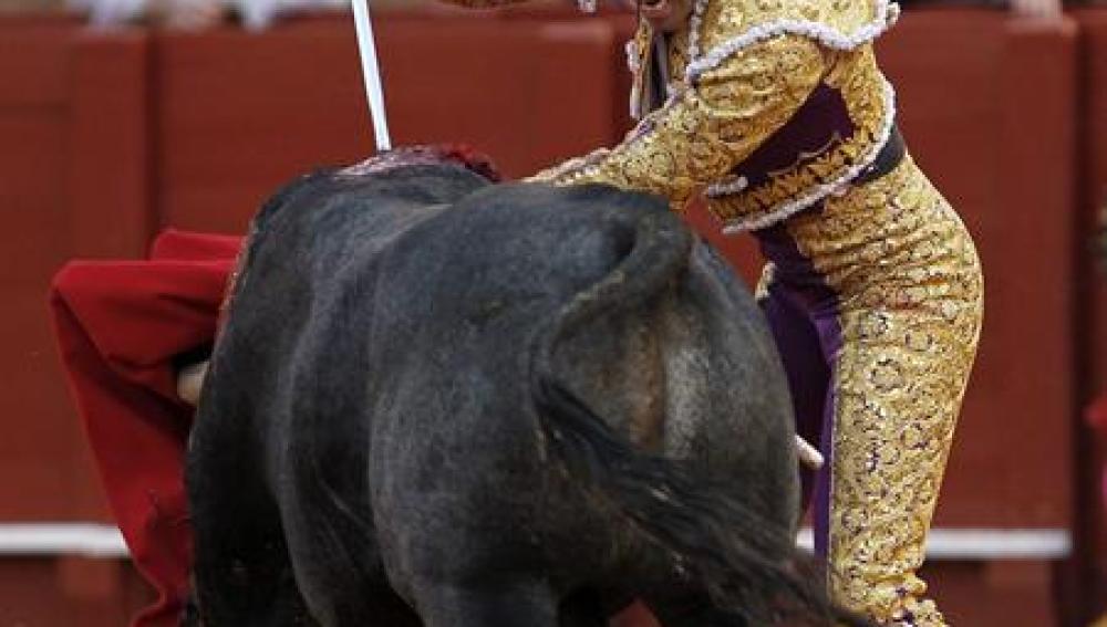 El diestro Salvador Cortés