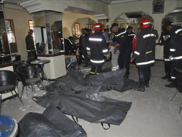 Suben a 16 los muertos en un atentado en el corazón turístico de Marraquech