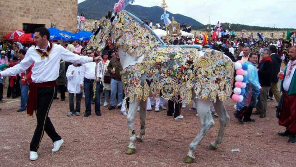 'Los caballos del vino', en Caravaca