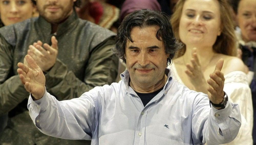 El director de orquesta Ricardo Muti