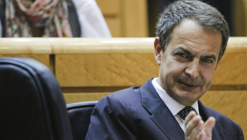 Zapatero, en la sesión de Control del Congreso