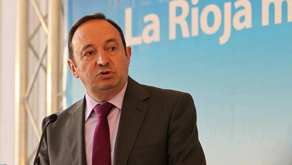 Pedro Sanz, presidente del PP riojano